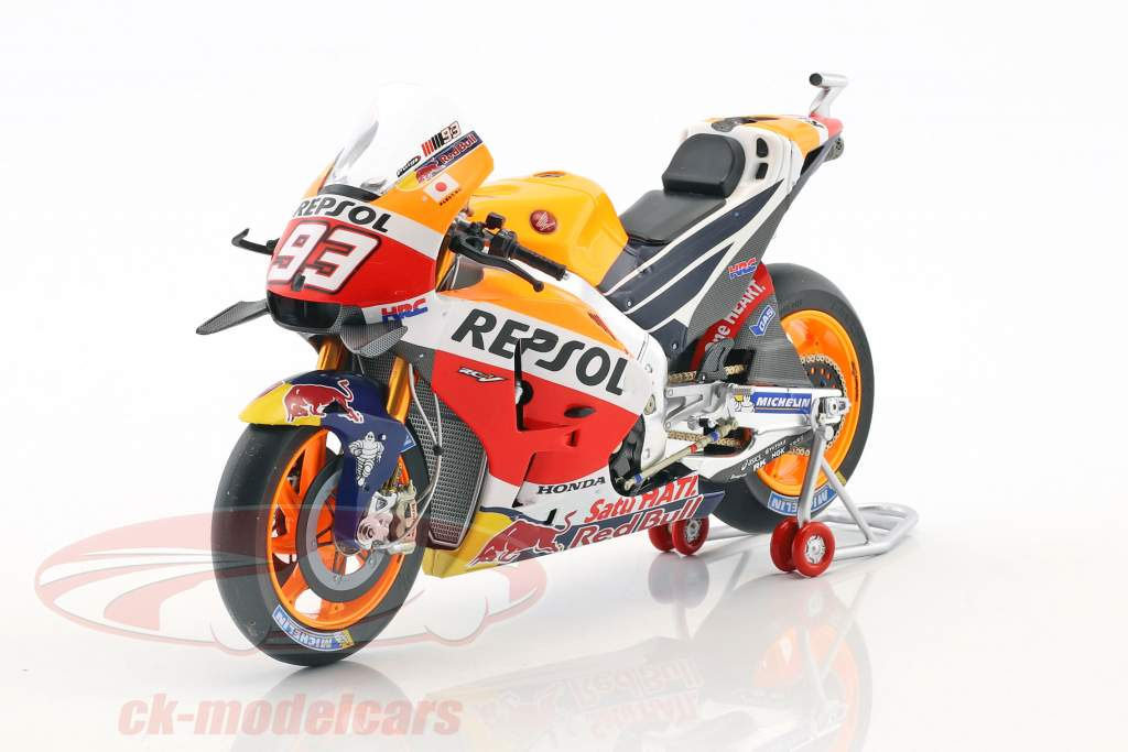 Marc Marquez Honda RC213V #93 World Champion MotoGP 2016 1:12 Spark