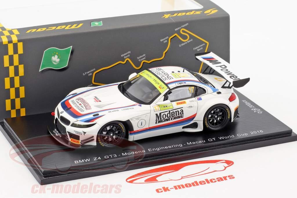 BMW Z4 GT3 #17 FIA GT World Cup Macau 2016 Capo 1:43 Spark
