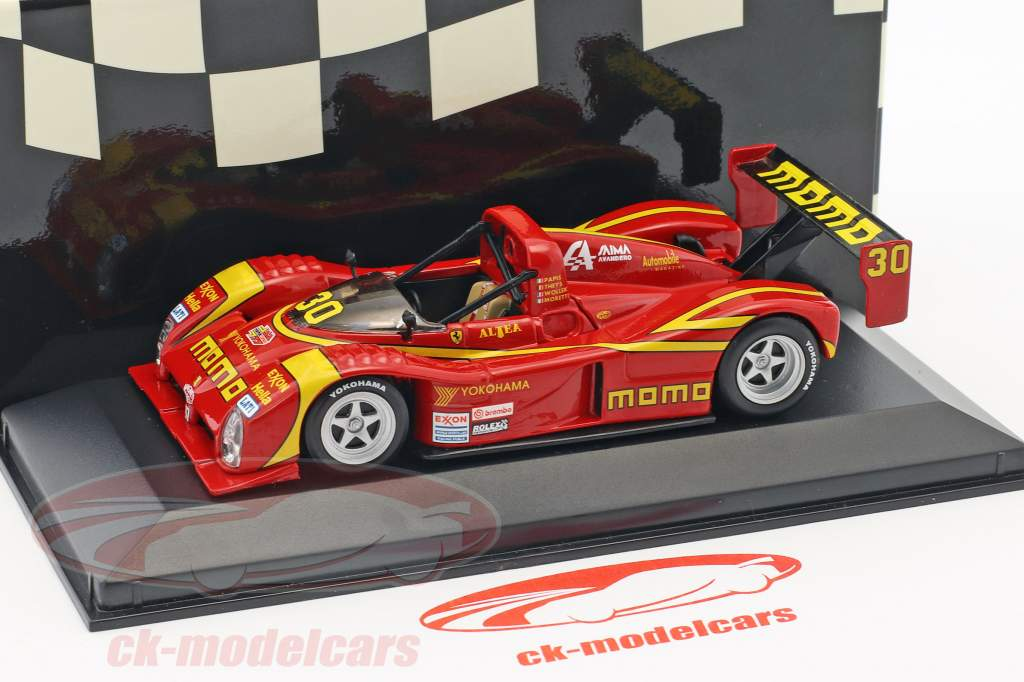 Ferrari 333 SP #30 2nd 24h Daytona 1996 Moretti, Wollek, Theys, Papis 1:43 Minichamps