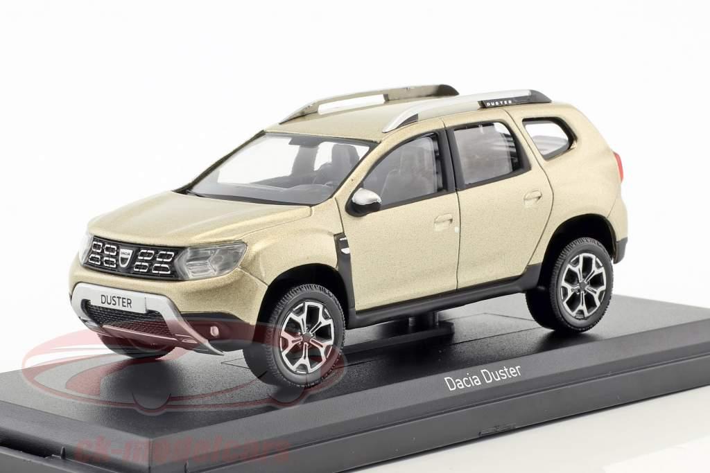 Dacia Duster year 2018 sand dunes beige metallic 1:43 Norev