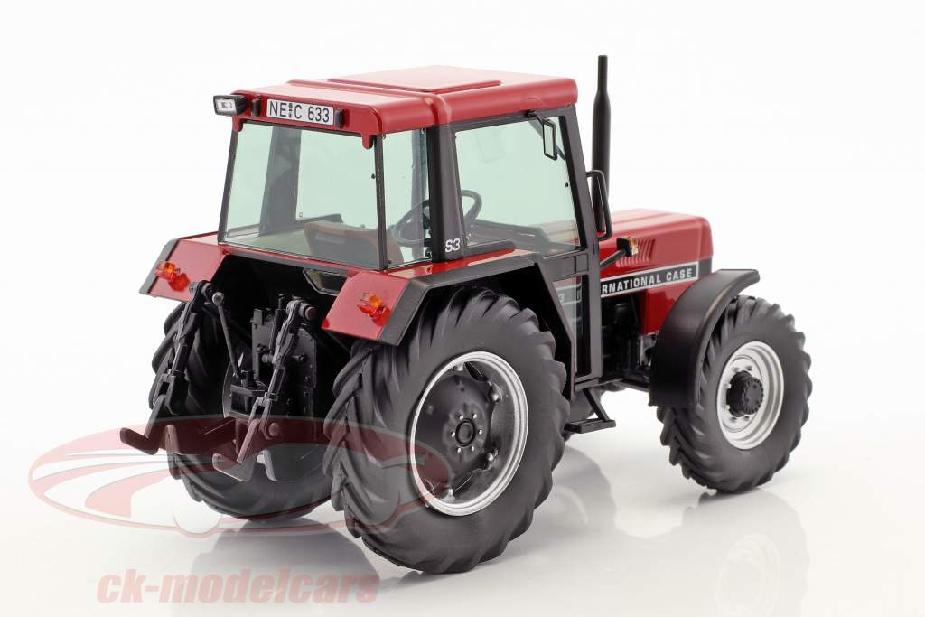 Case International 633 Traktor mit Kabine rot 1:32 Schuco