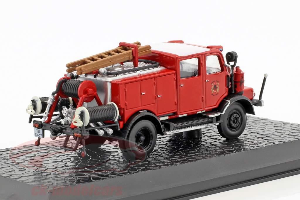 Horch H3A vigili del fuoco TLF 15 anno di costruzione 1952 rosso 1:72 Atlas