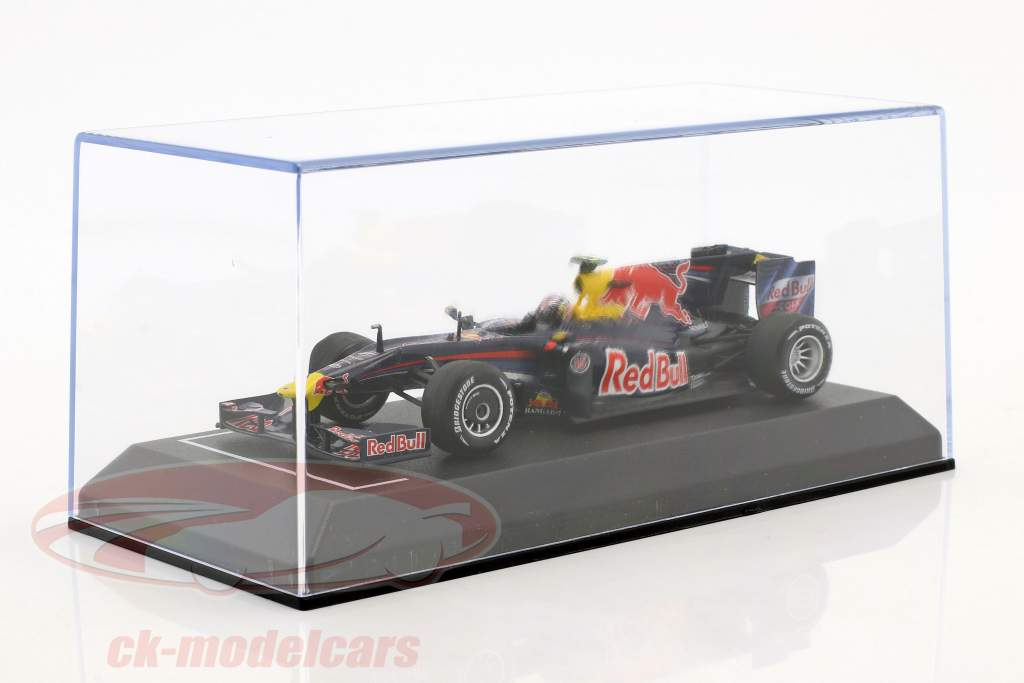 Sebastian Vettel Red Bull RB5 #15 formula 1 2009 with showcase 1:43 Minichamps