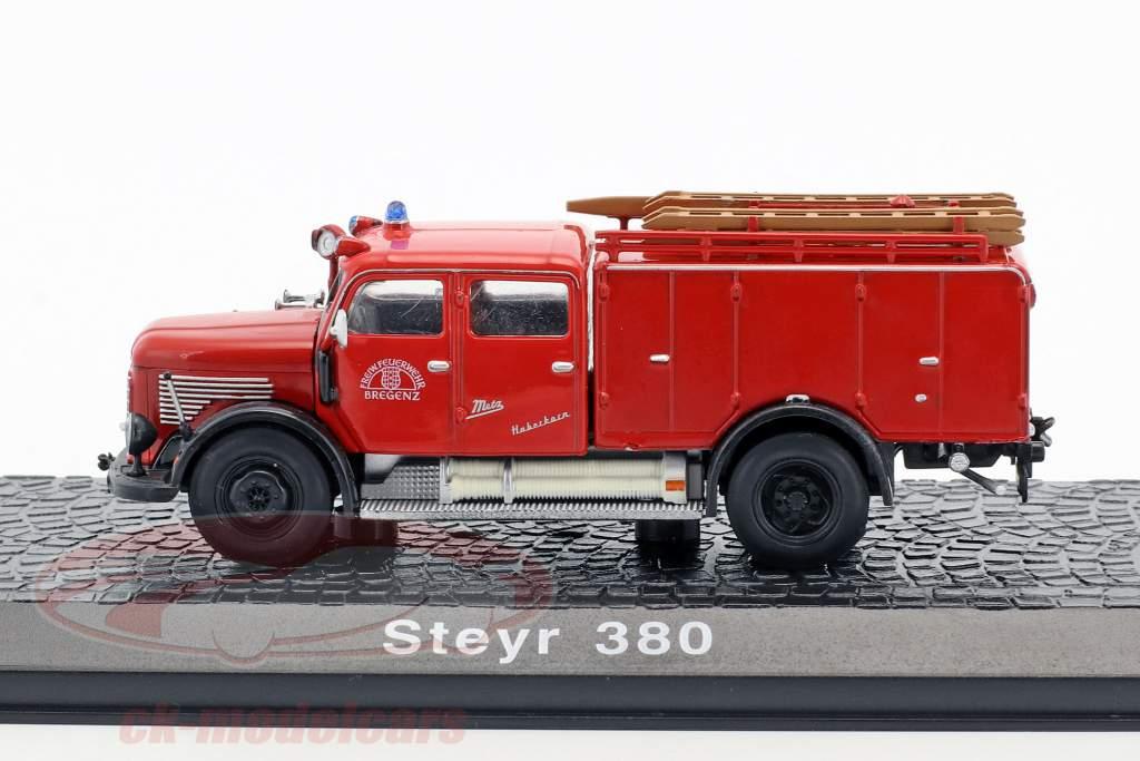 Steyr 380 fire Department Bregenz red 1:72 Atlas