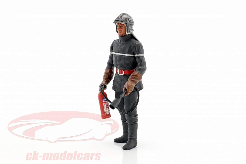 Jean-Luc French Fireman figure 1:18 LeMansMiniatures