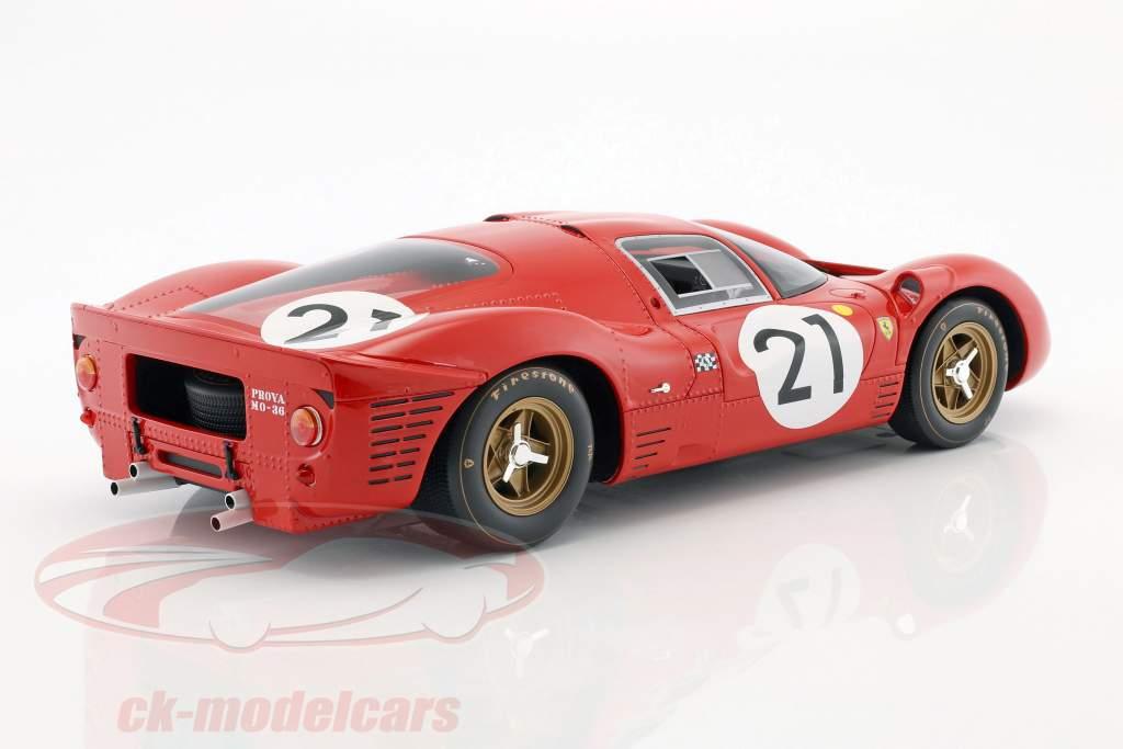 Ferrari 330 P4 #21 2nd 24h LeMans 1967 Scarfiotti, Parkes 1:12 CMR