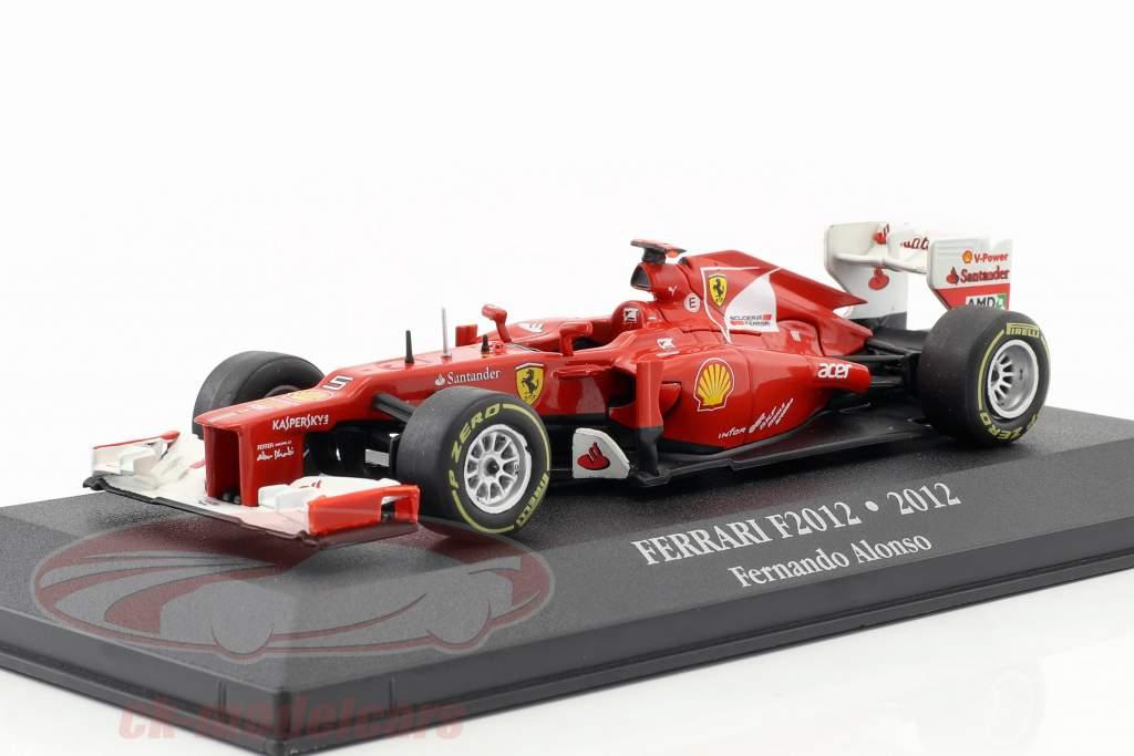 Fernando Alonso Ferrari F2012 #5 formula 1 2012 1:43 Atlas