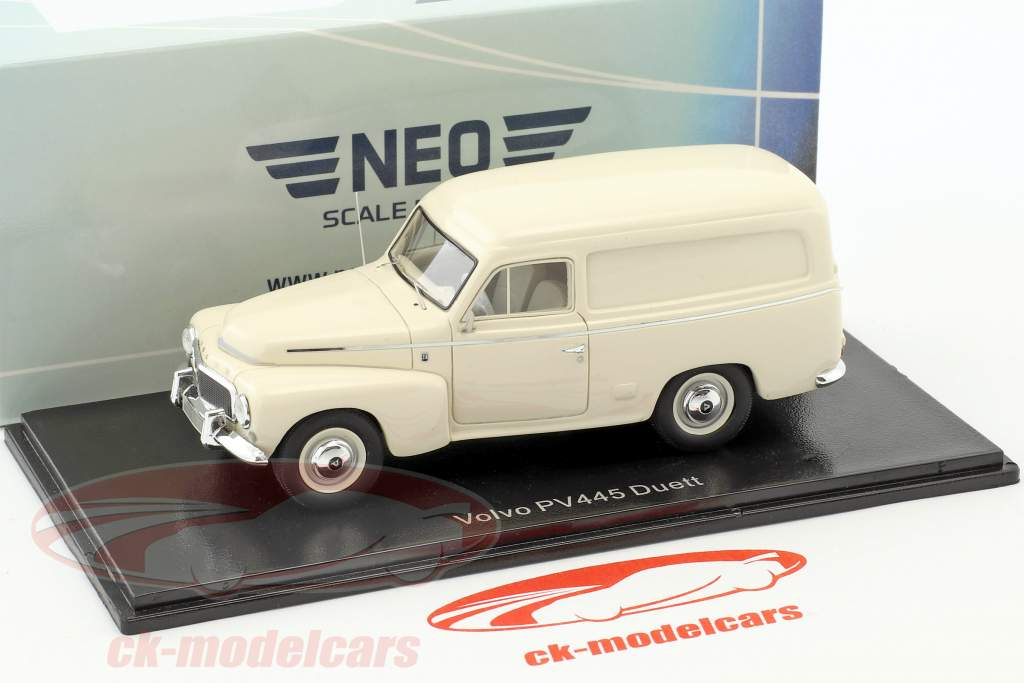 Volvo Duett PV445 year 1956 light beige 1:43 Neo