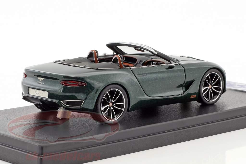 Bentley EXP 12 Speed green 1:43 LookSmart