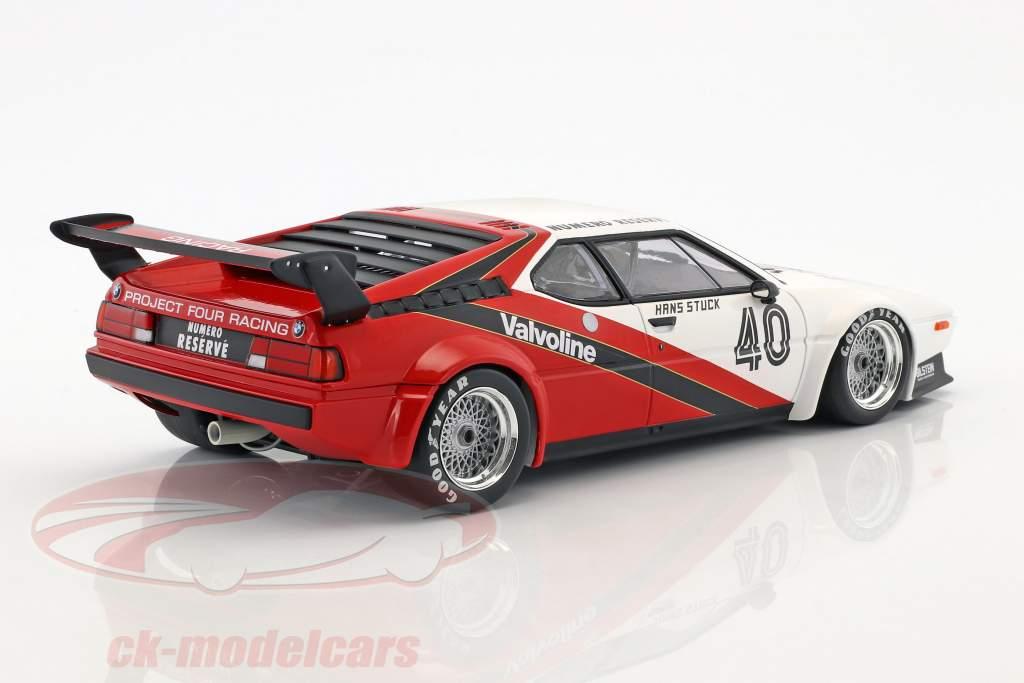 Hans-Joachim Stuck BMW M1 Procar #40 Winner monaco Procar Series 1980 1:18 Minichamps