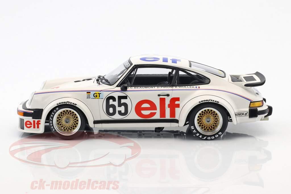 Porsche 934 Kremer Racing #65 24h LeMans 1976 Wollek, Pironi, Beaumont 1:18 Minichamps