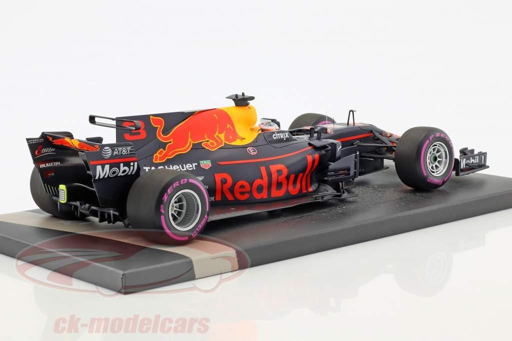 Daniel Ricciardo Red Bull RB13 #3 messicano GP formula 1 2017 1:18 Minichamps