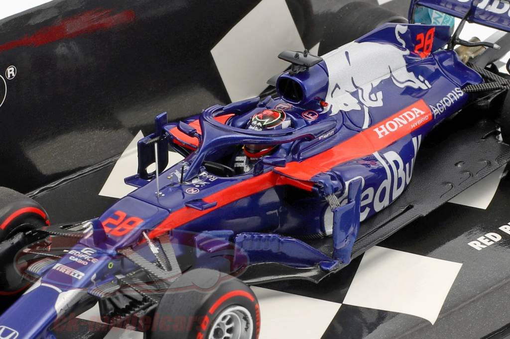 Brendon Hartley Scuderia Toro Rosso STR13 #28 formula 1 2018 1:43 Minichamps