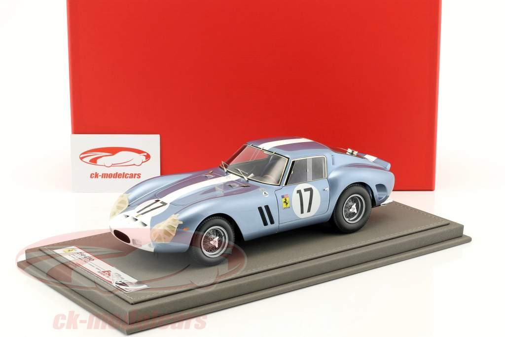 Ferrari 250 GTO Day version #17 class winner 24h LeMans 1962 Grossmann, Roberts 1:18 BBR