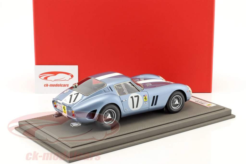 Ferrari 250 GTO Day Version #17 Klassensieger 24h LeMans 1962 Grossmann, Roberts 1:18 BBR