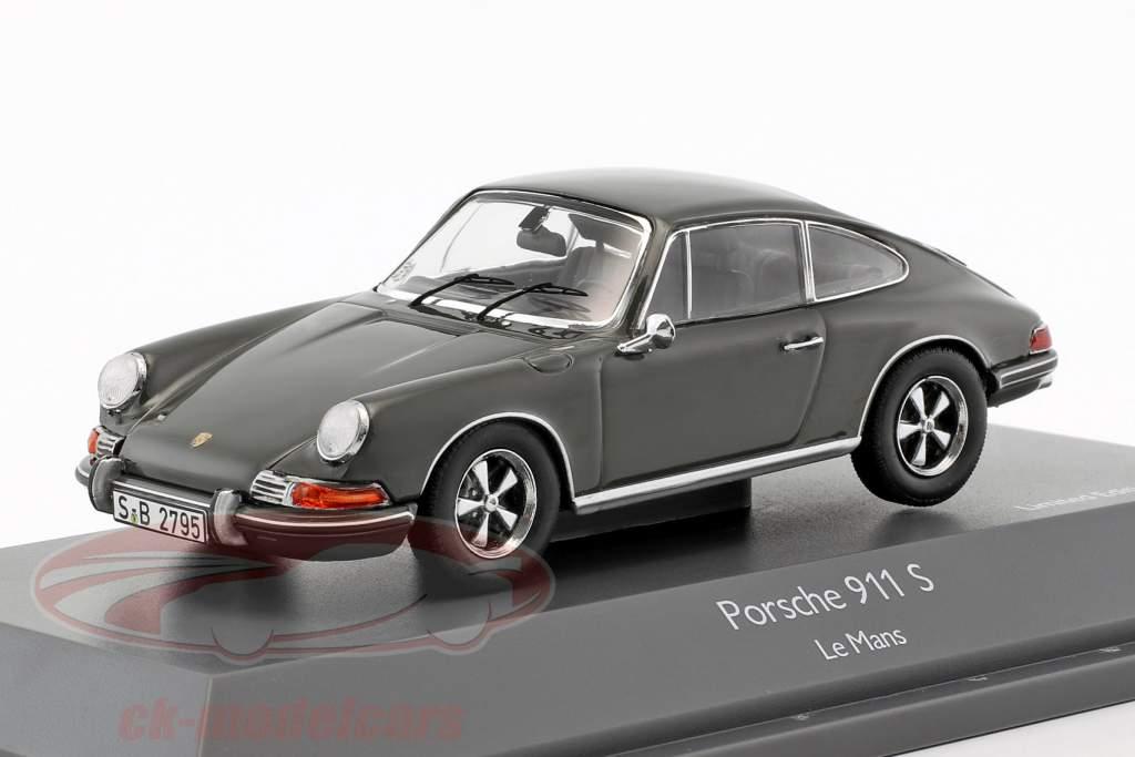 Porsche 911 S Steve McQueen MovieCar film Le Mans (1971) grigio 1:43 Schuco
