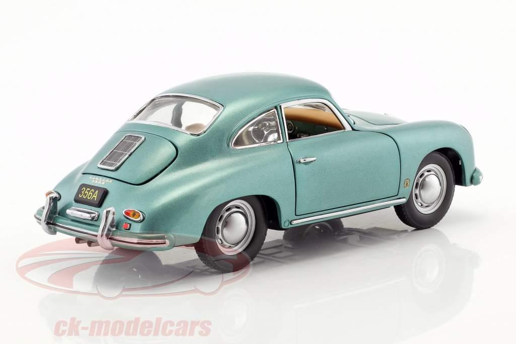 Porsche 356 A 1500 GS Carrera GT year 1957 green metallic 1:18 Sun Star