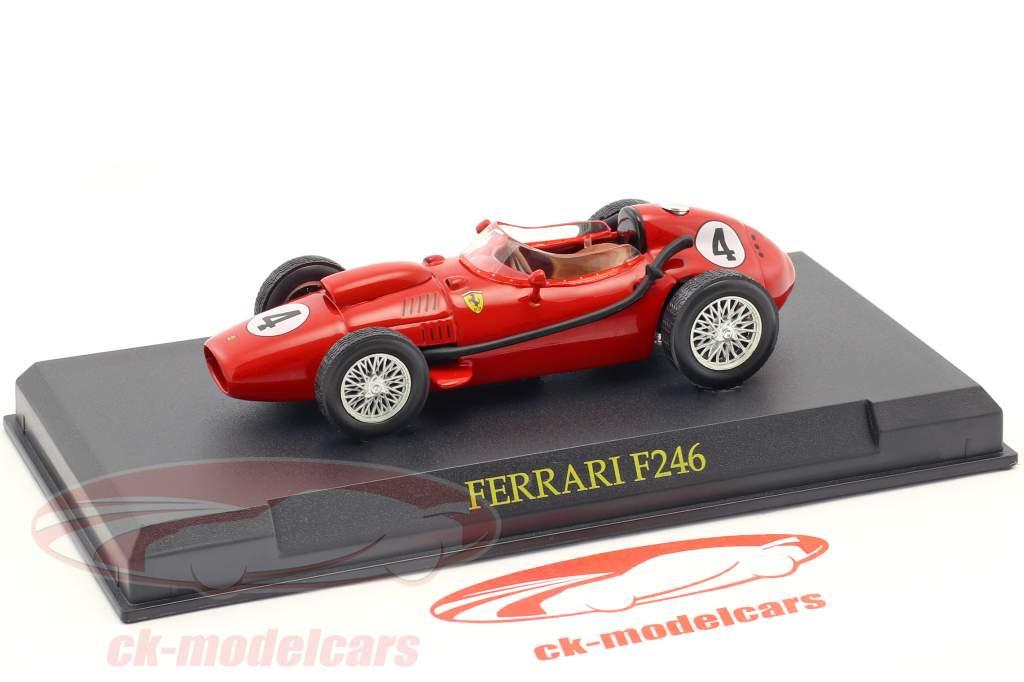 Mike Hawthorne Ferrari F246 #4 champion du monde formule 1 1958 1:43 Altaya