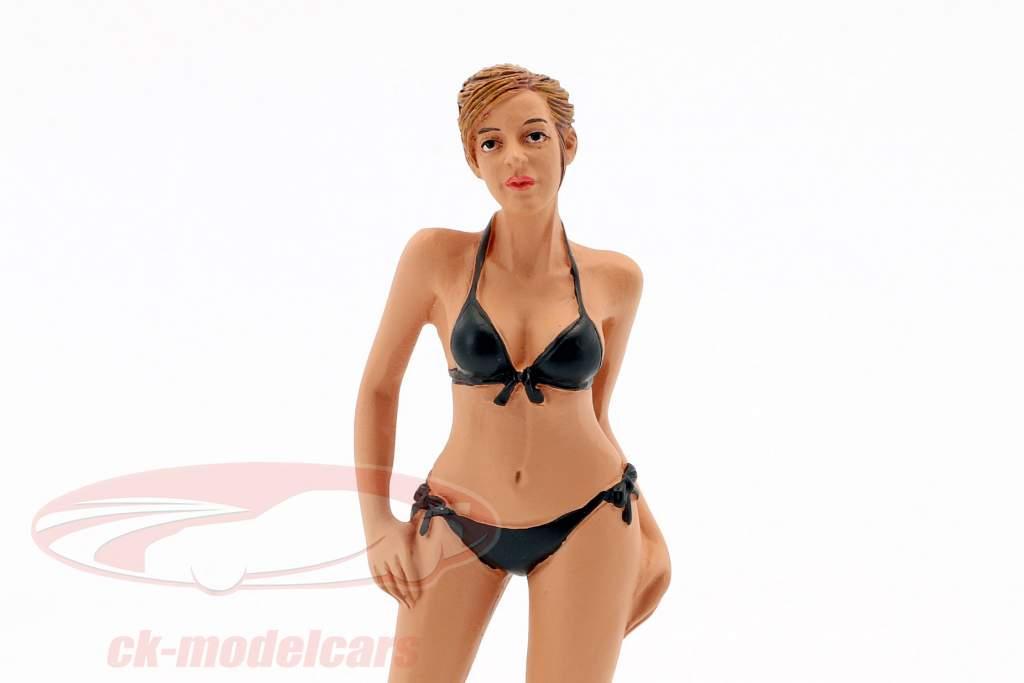 calendario ragazza aprile in bikini 1:18 American Diorama