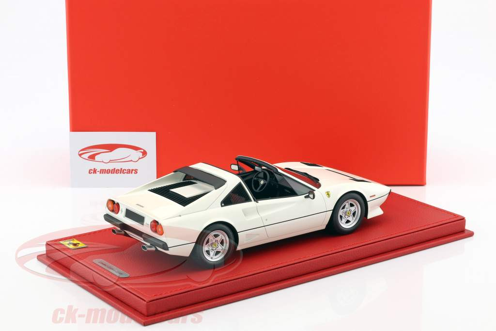 Ferrari 208 GTS Turbo year 1983 white 1:18 BBR