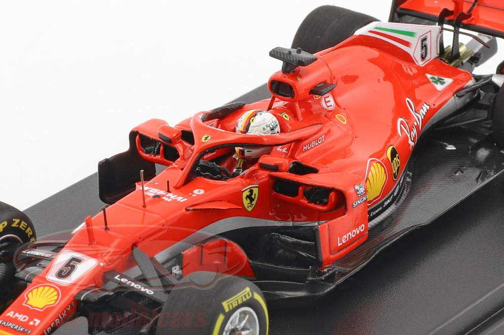 Sebastian Vettel Ferrari SF71H #5 Winner Australia GP formula 1 2018 1:43 LookSmart