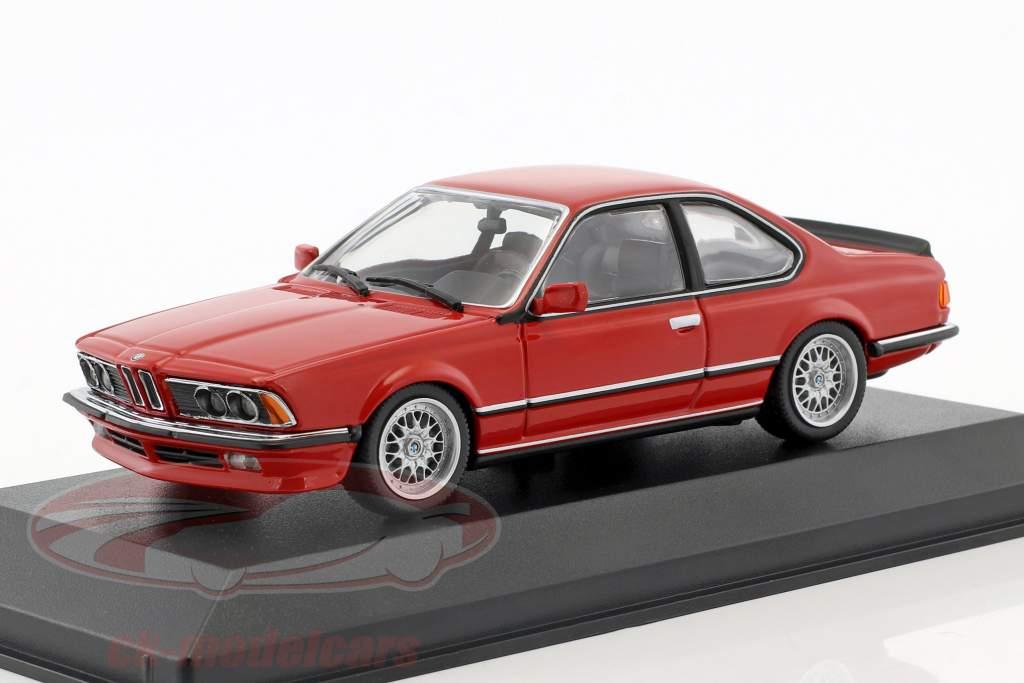 BMW 635 CSi (E24) Baujahr 1982 rot 1:43 Minichamps