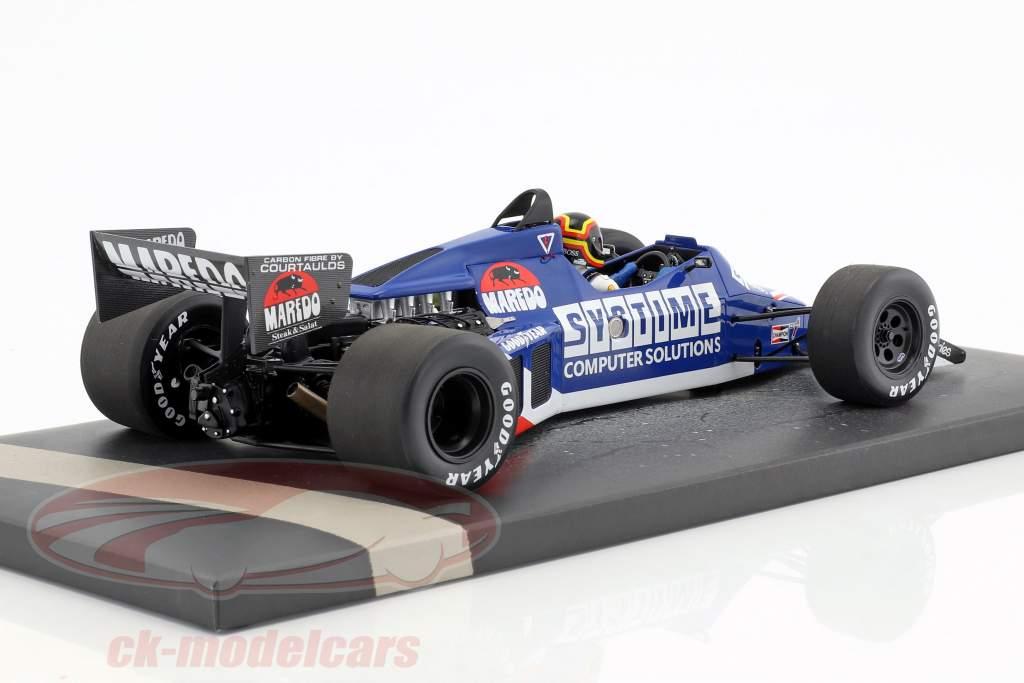 S. Bellof Tyrrell 012 #4 GP Zandvoort formula 1 1984 with Cap 1:18 Minichamps