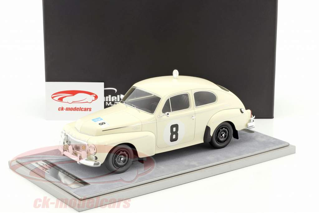 Volvo PV 544 #8 gagnant RAC Rallye 1964 Trana, Thermaenius 1:18 Tecnomodel