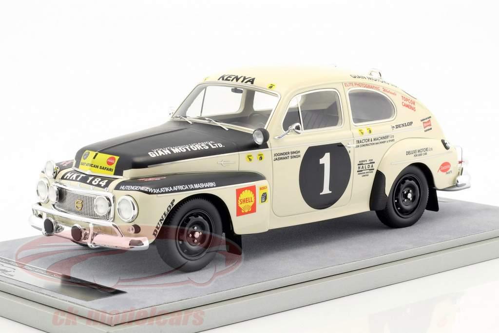 Volvo PV 544 #1 Winner Rallye Ostafrika Safari 1965 J.Singh, J. Singh 1:18 Tecnomodel