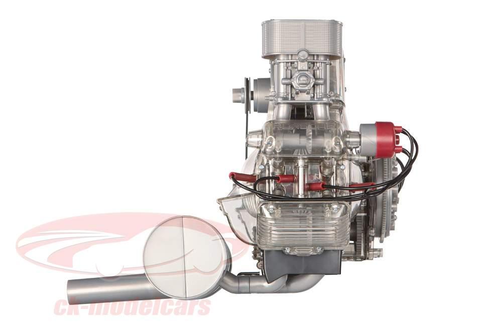 Porsche Carrera racing engine 4-cylinder Boxer Model Type 547 year 1953 kit 1:3 Franzis