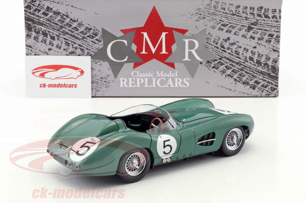 Aston Martin DBR1 #5 vincitore 24h LeMans 1959 Shelby, Salvadori 1:18 CMR