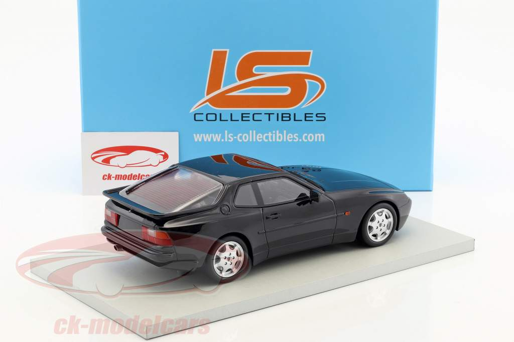 Porsche 944 Turbo S année de construction 1991 schwaqrz 1:18 LS Collectibles