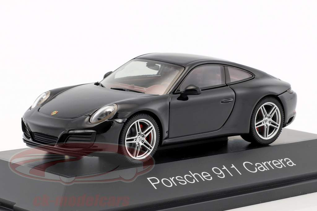 Porsche 911 (991 II) Carrera coupe black 1:43 Herpa