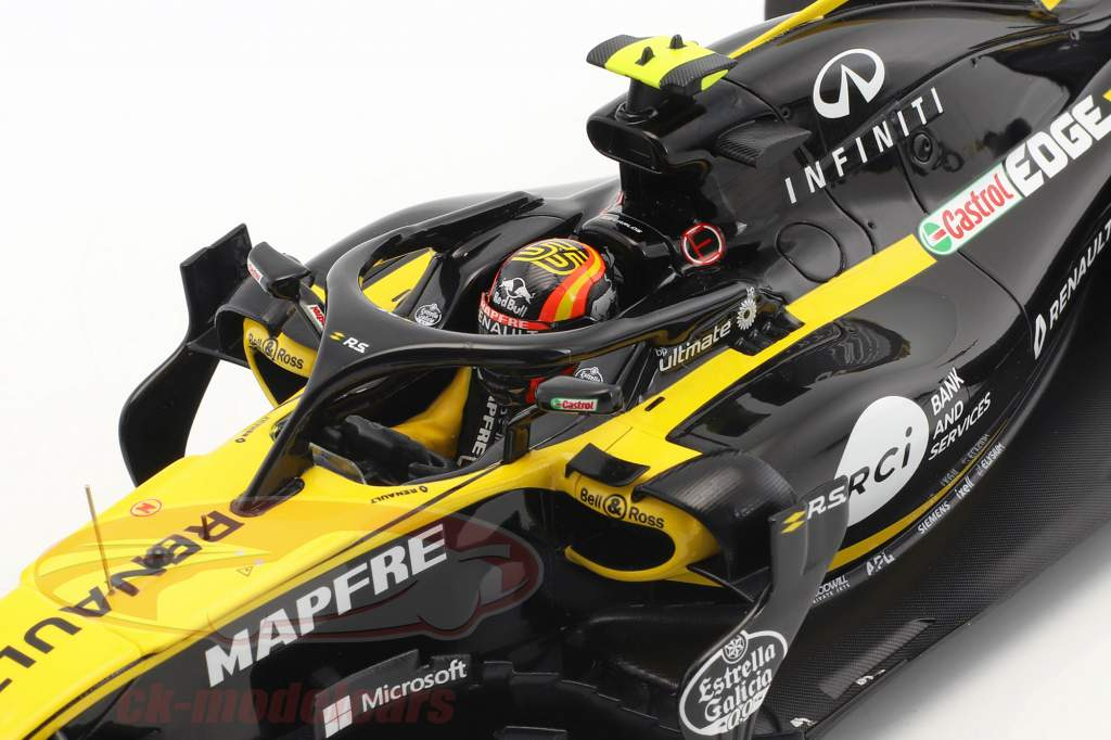 Carlos Sainz jr. Renault R.S.18 #55 Australia GP formula 1 2018 1:18 Spark
