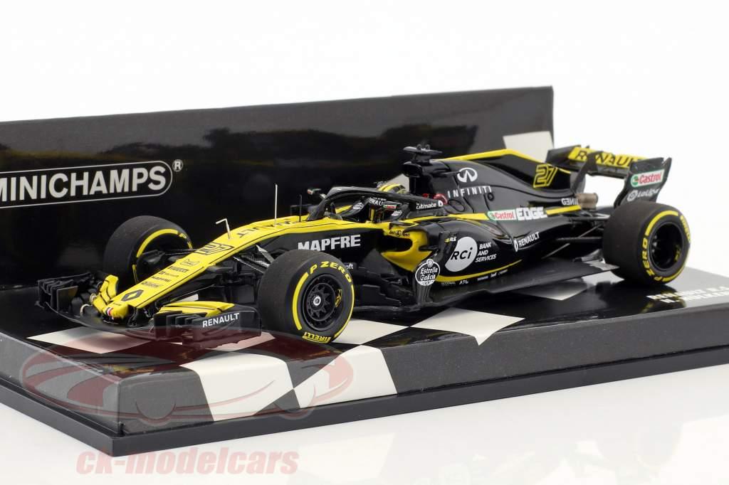 Nico Hülkenberg Renault R.S.18 #27 formula 1 2018 1:43 Minichamps