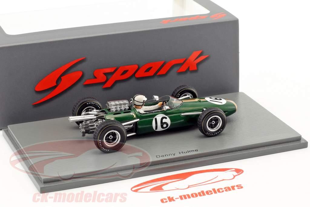 Denis Hulme Brabham BT11 #16 4th French GP formula 1 1965 1:43 Spark