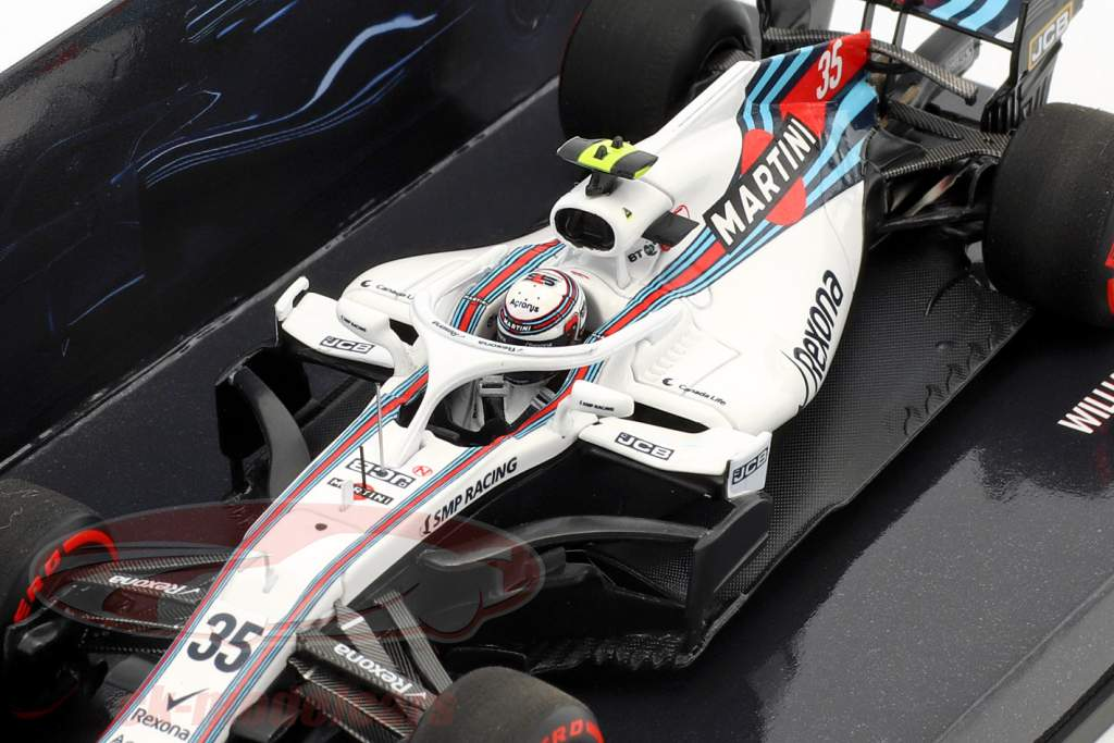 Sergei Sirotkin Williams FW41 #35 formula 1 2018 1:43 Minichamps