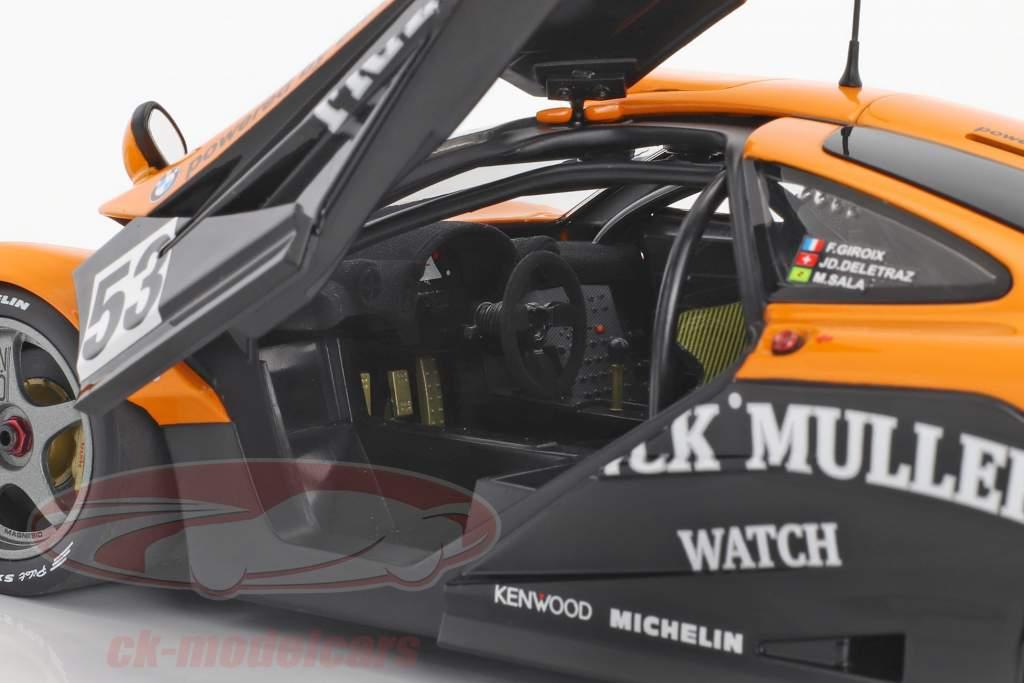 McLaren F1 GTR #53 24h LeMans 1996 Deletraz, Giroix, Sala 1:18 Minichamps