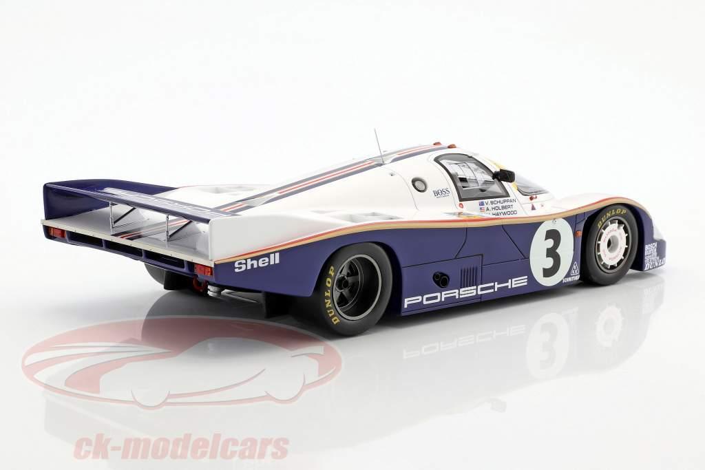 Porsche 956 #3 gagnant 24h LeMans 1983 Schuppan, Haywood, Holbert 1:18 Spark