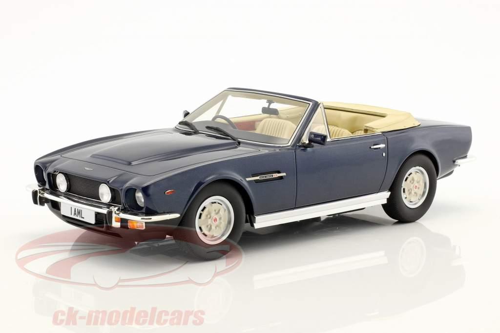Aston Martin V8 Volante anno di costruzione 1978 blu metallico 1:18 Cult Scale