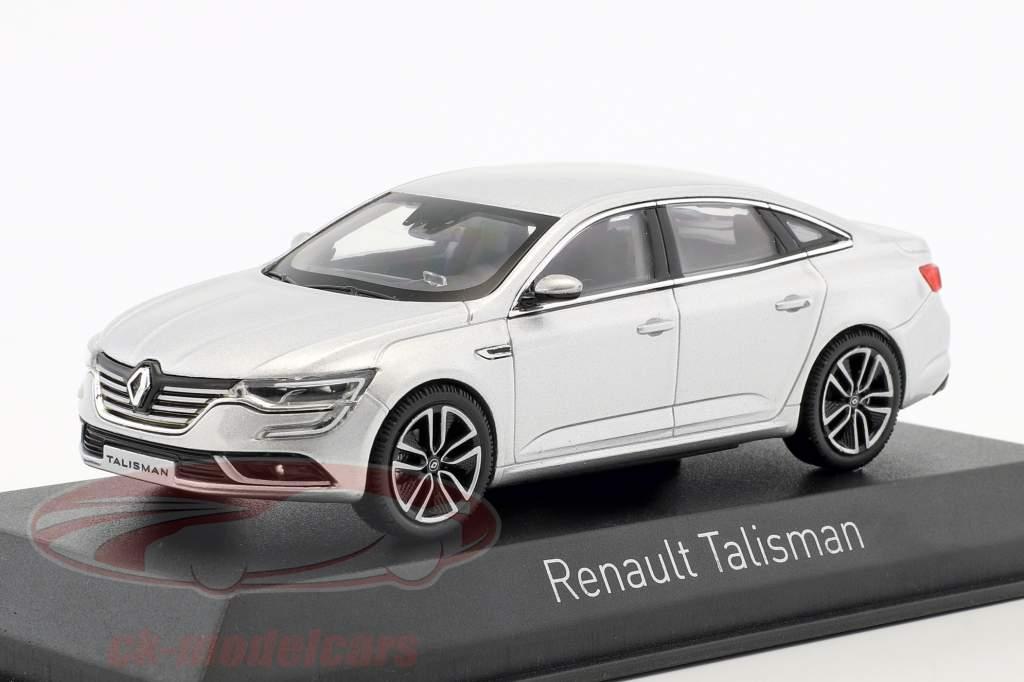 Renault Talisman Baujahr 2016 silber 1:43 Norev