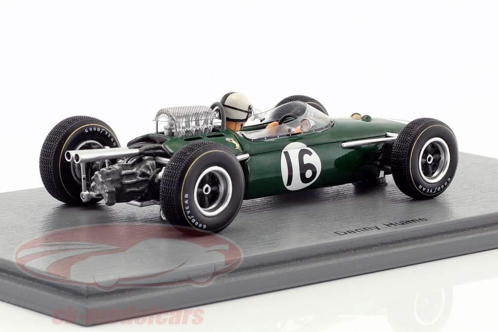 Denis Hulme Brabham BT11 #16 4 ° francese GP formula 1 1965 1:43 Spark