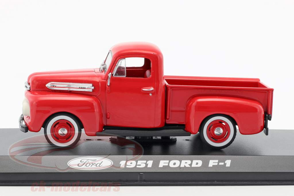 Ford F-1 Pick-Up année de construction 1951 rouge 1:43 Greenlight
