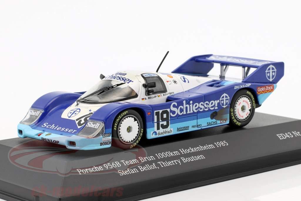 Porsche 956B Team Brun #19 1000km Hockenheim 1985 Bellof, Boutsen 1:43 CMR