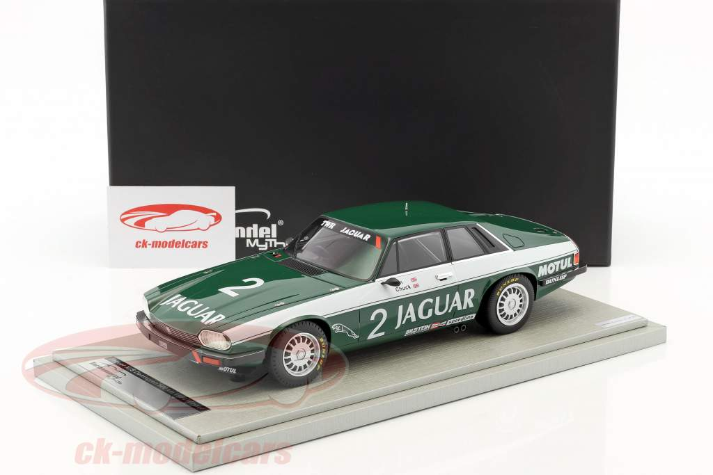 Jaguar XJS #2 Winner GP Brno 1983 Walkinshaw, Nicholson 1:18 Tecnomodel
