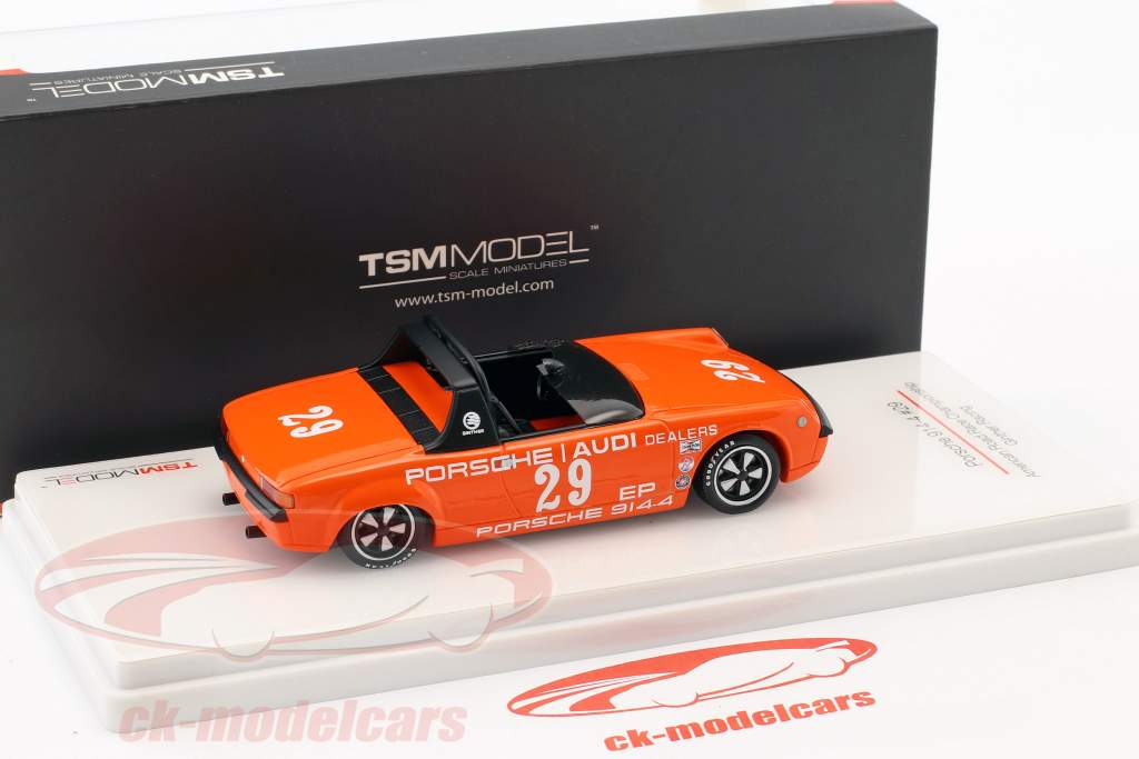 Porsche 914/4 #29 American Road Race Championship 1972 Ritchie Ginther 1:43 TrueScale