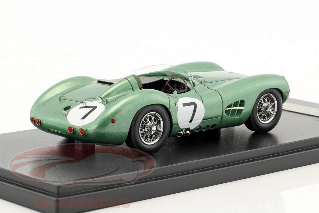 Aston Martin DBR1 #7 Winner RAC Tourist Trophy 1958 Moss, Brooks 1:43 Matrix