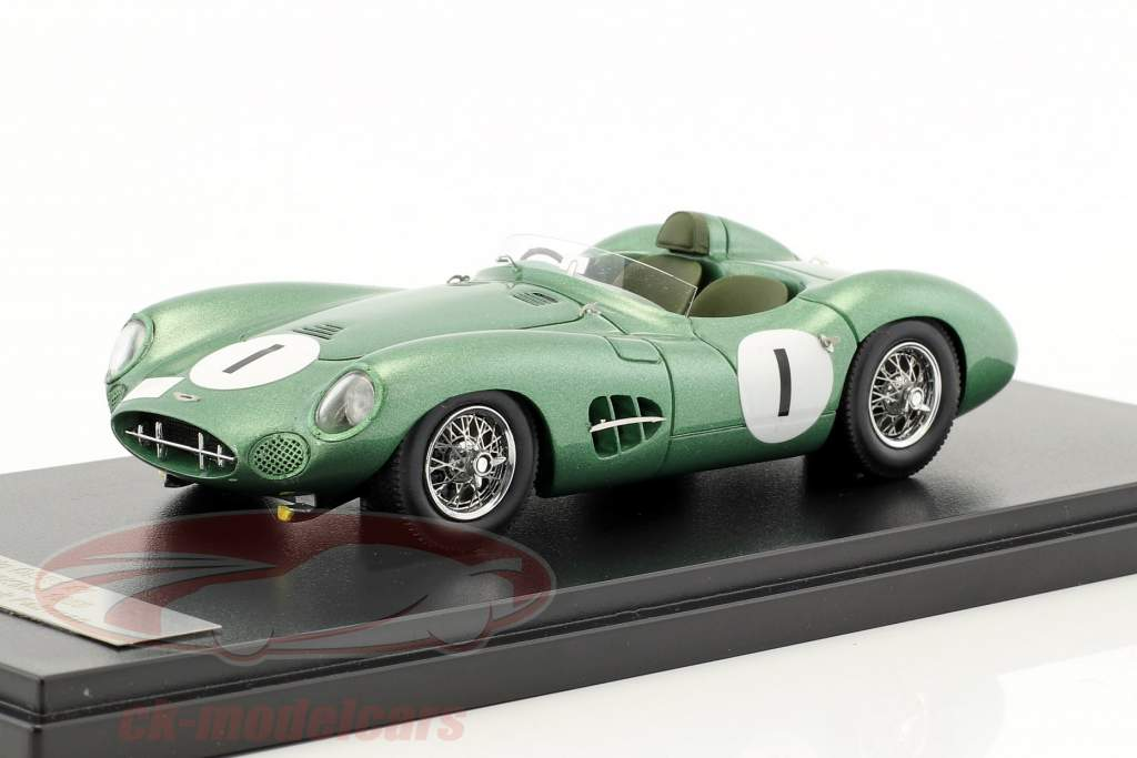 Aston Martin DBR1 #1 gagnant 1000km Nürburgring 1959 Moss, Fairman 1:43 Matrix
