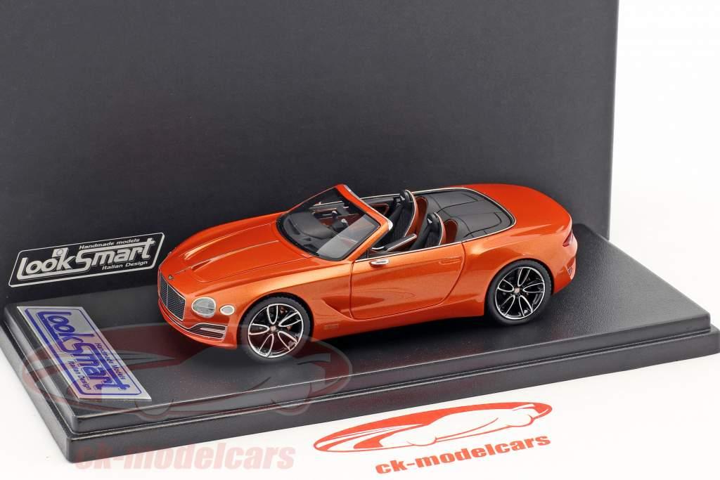Bentley Exp 12 Speed 6e Concept Car 2017 orange metallic 1:43 LookSmart