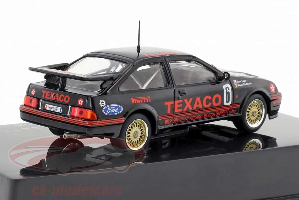 Ford Sierra RS Cosworth #6 classe gagnant Div.3 500km Dijon WTCC 1987 Soper, Niedzwiedz 1:43 Ixo
